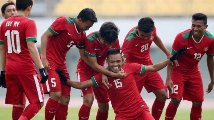 Link live streaming timnas Indonesia U-19 vs Qatar Piala AFC 2018.