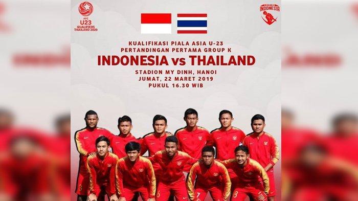 Rekor Buruk Kualifikasi Piala Asia U-23 Bagi Indonesia Berlanjut
