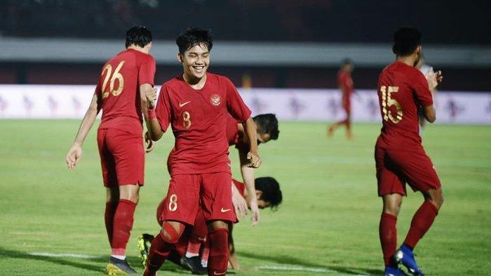 Hasil Akhir Timnas U-22 Indonesia vs Bali United, Timnas Bantai Bali 3-0