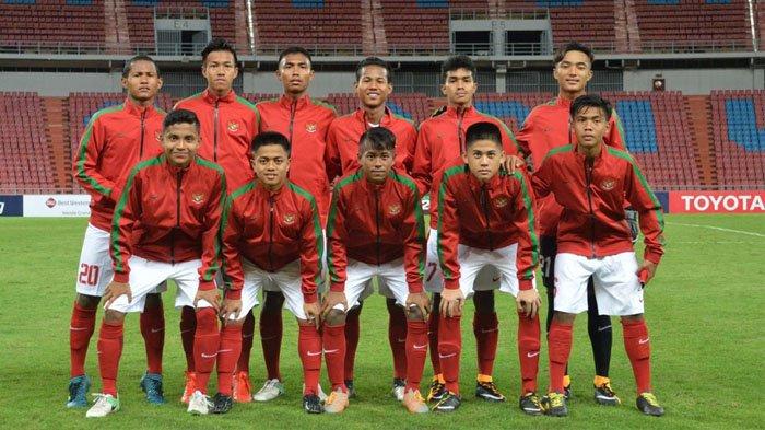 Timnas U16 Indonesia.