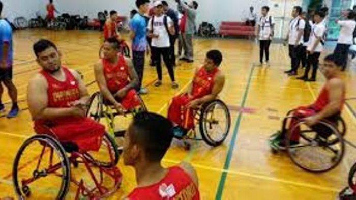 Timnas Wheelchair Basket Putra Indonesia Tempati Peringkat 10 Asia