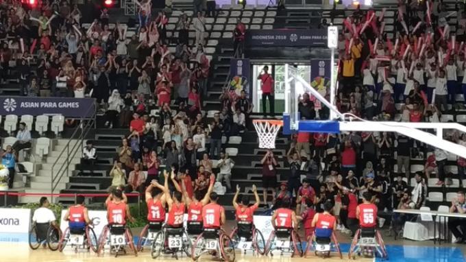 Timnas Wheelchair Basketball Putera Indonesia Tidak akan Membiarkan China Menang Mudah