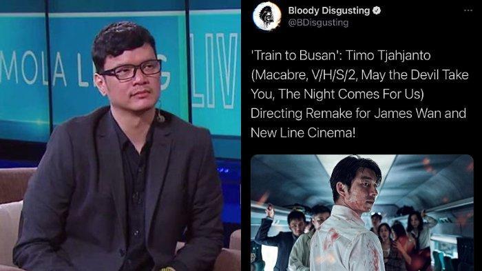 Timo Tjahjanto tengah dalam prores negosiasi untuk menyutradarai Train to Busan versi Hollywood.