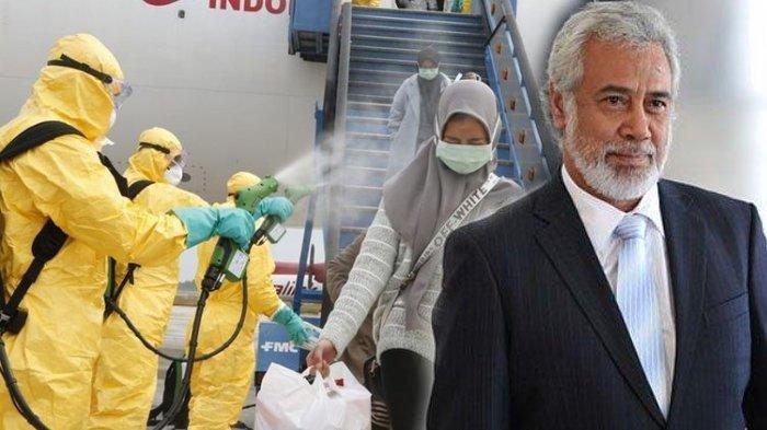 Gubernur NTT Siap Tampung dan Karantina 17 Warga Timor Leste dari Wuhan China di RSJ Naimata Kupang