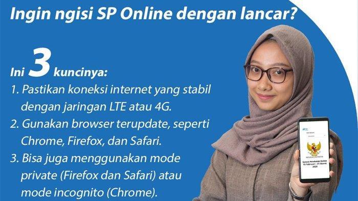 Login di sensus.bps.go.id untuk Daftar Sensus penduduk ...