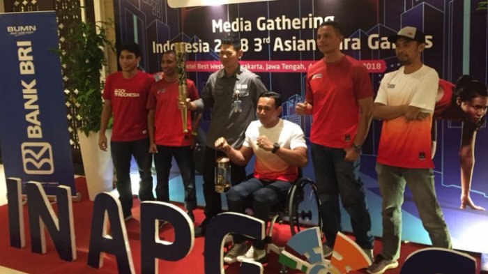 Solo Jadi Kota Pertama yang Dilalui Obor Asian Para Games 2018