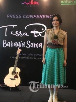 Rilis Single Perdana, Tissa Biani Ingin Kembangkan Bakat Selain Akting