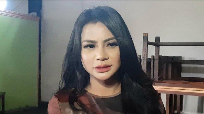 Tisya Erni ketika ditemui di kawasan Tendean, Mampang Prapatan, Jakarta Selatan, Selasa (20/4/2021).