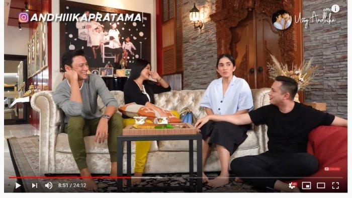 Titi Kamal dan Christian Sugiono (Tangkap Layar YouTube Ussy Andhika Official).