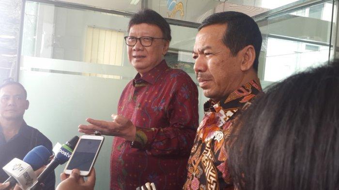 Mendagri Bertemu BSSN Bahas Keamanan Jaringan di Seluruh Provinsi