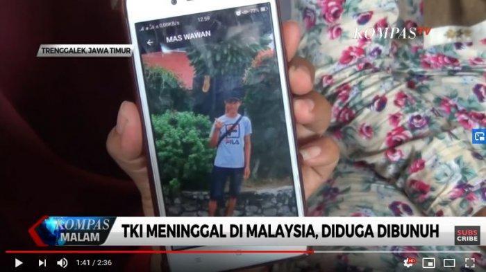 Ilyas Setiawan seorang TKI korban pembunuhan di Malaysia, Kamis (5/12/2019).