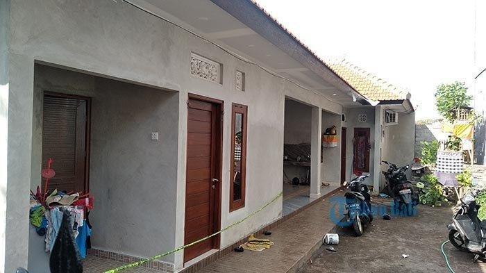 Lokasi gantung diri seorang wanita menggunakan selendang kuning, di Abianbase, Mengwi, Badung, Kamis (14/11/2019).  Tribun Bali/I Komang Agus Aryanta