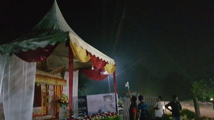 Nyawa Heri Saputra Tak Tertolong Usai Tersengat Listrik saat Memasang Tenda Pelaminan