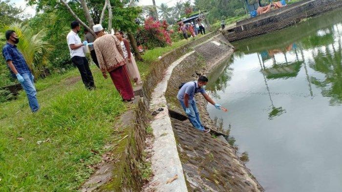 Lolos dari Pengawasan, Dua Bocah Ditemukan Tewas Tenggelam di Embung Batu Ngerengseng Lombok Tengah