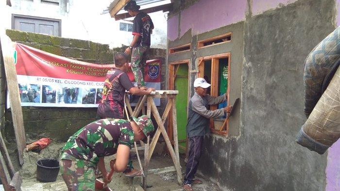 Wajah Ceria dan Tangis Bahagia Warga Berkat Program TNI Manunggal Membangun Desa