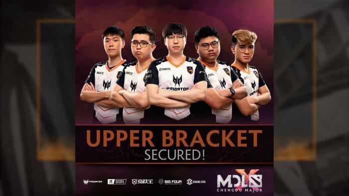 Update MDL Chengdu Major Group Stage, Team Liquid dan TNC Predator Tak Terkalahkan