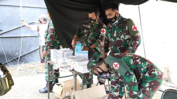 TNI AD Bangun RS Darurat untuk Korban Gempa Mamuju Sulawesi Barat