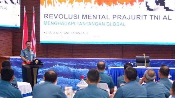 KSAL Berikan Arahan Soal Revolusi Mental Kepada Prajurit TNI AL