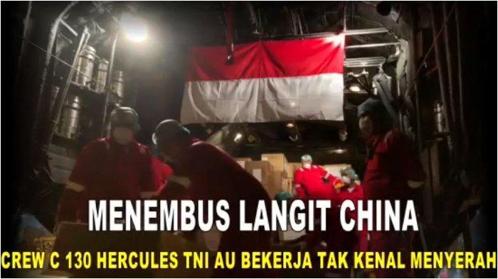 Prajurit TNI telah mengambil alat kesehatan yang dibeli pemerintah Indonesia dari China.