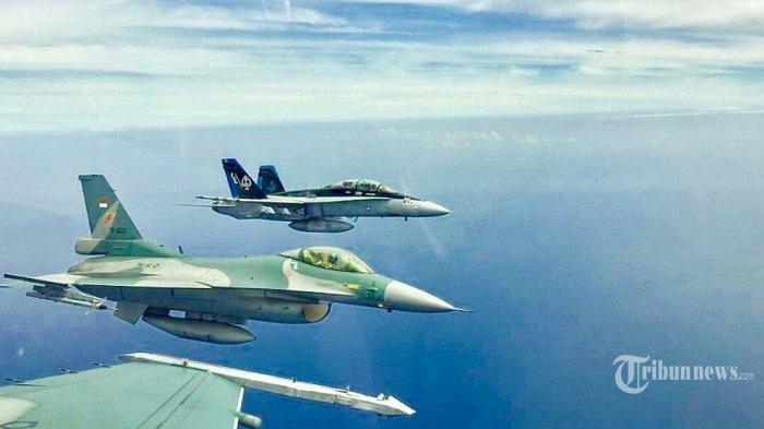 TNI AU Berhasil Upgrade 2 Jet Tempur F-16: Mulai Avionik hingga Bisa Tembakkan Rudal AMRAAM