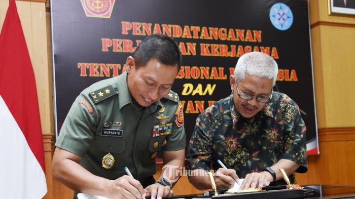TNI dan Dewan Pers Sepakati Perjanjian Kerja Sama