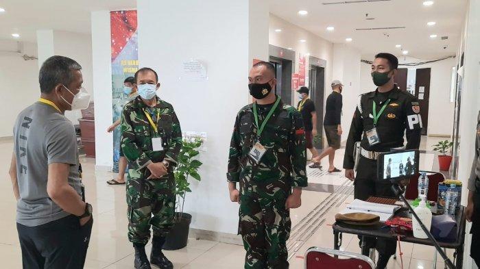 Spot utama pertempuran TNI melawan virus Corona, berlangsung di Rumah Sakit Darurat Covid-19 (RSDC) Wisma Atlet Kemayoran, Jakarta Pusat.