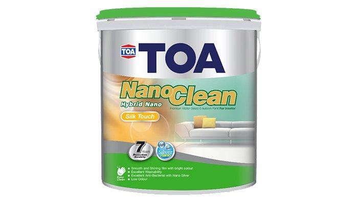 TOA Paint NanoClean Silk Touch
