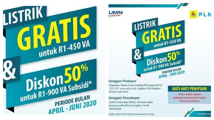 Login www.pln.co.id Token Listrik Gratis PLN Bulan Mei 2020 atau WA 08122-123-123, Non Subsidi