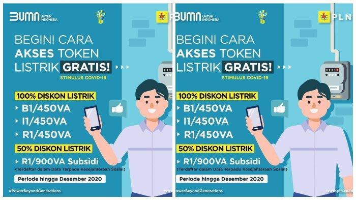 Klaim Listrik Gratis Pln Bulan Januari 2021 Di Www Pln Co Id Atau Wa Tribunnews Com Mobile
