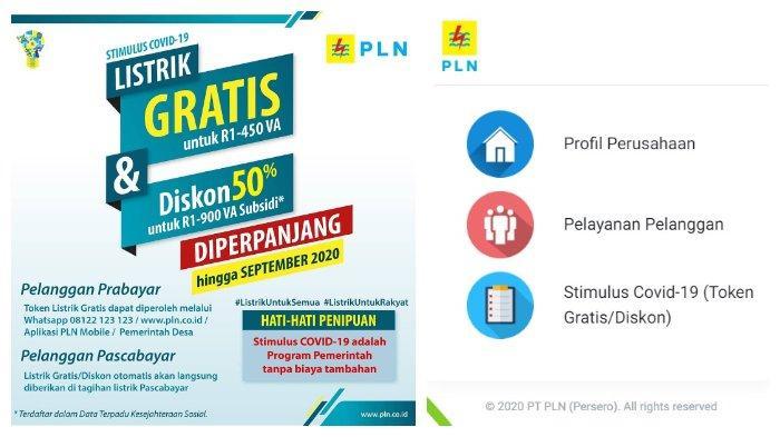 Dengan akses laman resmi PLN atau hubungi via WhatsApp, pelanggan tertentu bisa mendapatkan token listrik gratis hingga diskon.