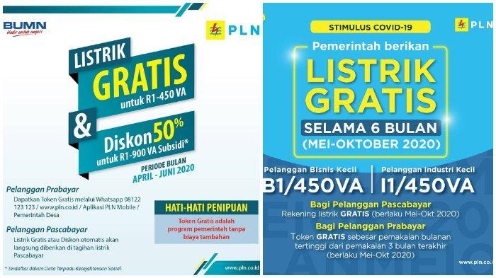 Login www.pln.co.id untuk Klaim Token Listrik Gratis PLN Juni 2020, Bisa Via WA, R1 hingga B1 450 VA.