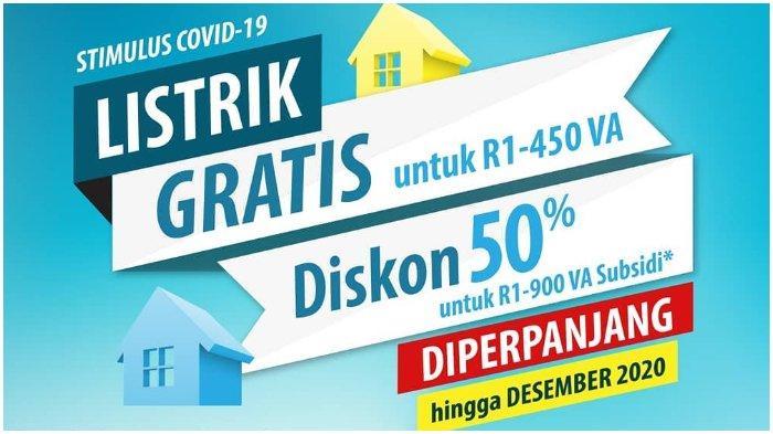 Token Listrik Gratis PLN September 2020.