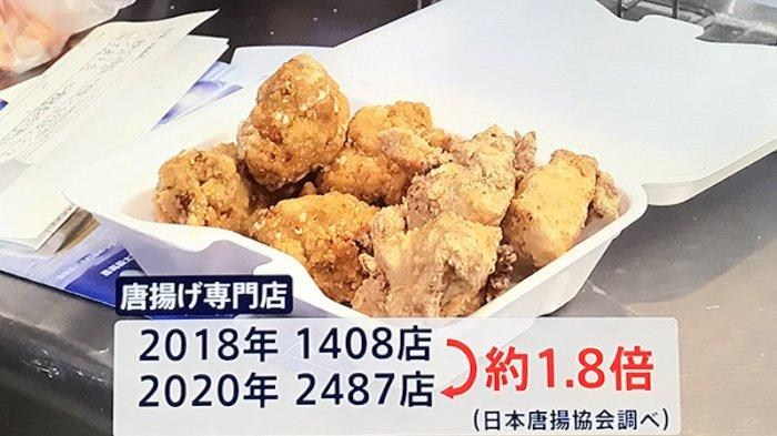 Toko Karage Ayam Goreng Jepang Meningkat 180% Dibandingkan 2 Tahun Lalu