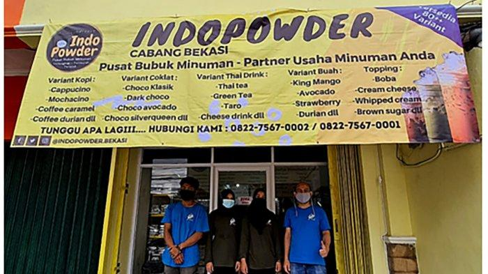 Toko IndoPowder di Bekasi