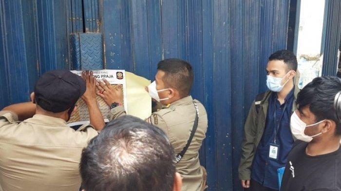 Jual Tramadol, Toko Kosmetik di Tangerang Disegel Satpol PP, Polisi Dalami Oknum Penyuplai