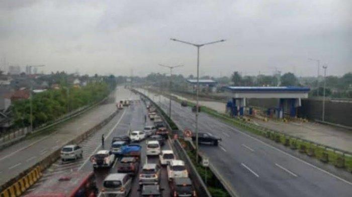 Sejumlah Jalan Tol di Jabodetabek Terendam Banjir Pada Sabtu Pagi, Ini Daftarnya