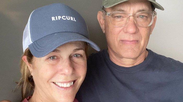 Tom Hanks dan Rita Wilson.