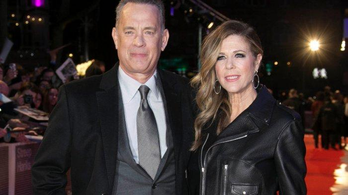 Aktor Hollywood, Tom Hanks dan sang istri, Rita Wilson.