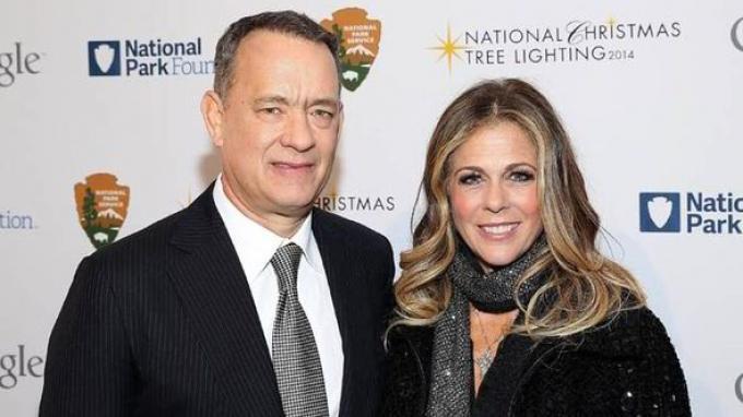 Tom Hanks Rita Wilson Corona