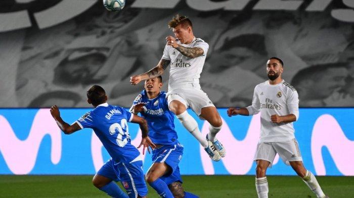 SEDANG BERLANGSUNG Live Streaming Real Sociedad vs Real Madrid, Liga Spanyol, Tayang Bein Sports 1