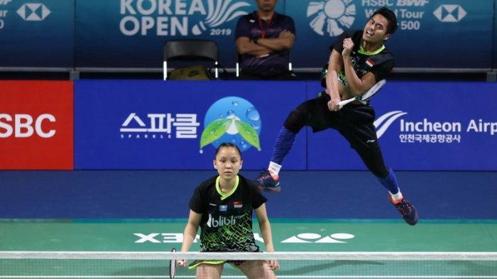 Tontowi Ahmad/Winny Oktavina Kandow Dipulangkan Ganda Campuran Tiongkok di Babak Pertama Korea Open