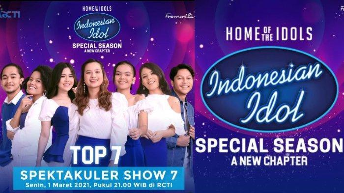 Live Streaming Indonesian Idol Top 7, Senin 1 Maret 2021: Siapa yang Harus Pulang?