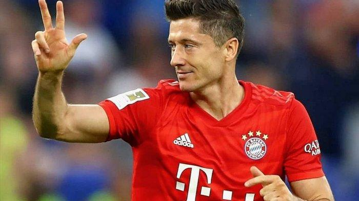 Top Skor Sementara Liga Champions, Lewandowski Memimpin, Messi & Ronaldo Tertinggal