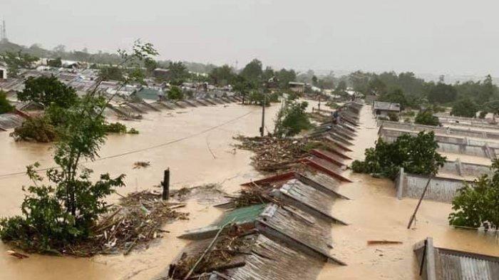Filipina Dilanda Topan Vamco, Orang-orang Mengungsi ke Atap Rumah, Korban Meninggal Capai 39 Jiwa