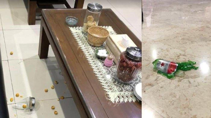 Cari Bupati di Pendopo Tak Ketemu, Anggota DPRD Tulungagung Marah, Banting Toples Kue dan Botol Bir