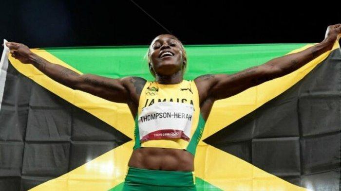 Pelari Elaine Thompson-Herah Pecahkan Rekor 100 Meter Putri di Olimpiade Tokyo 2020