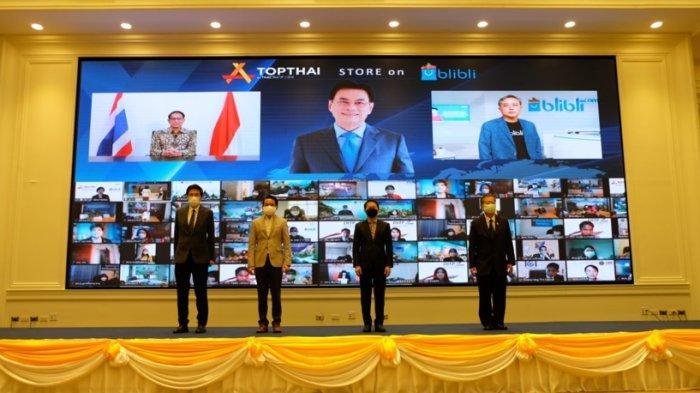 TOPTHAI Official Store Besutan Kementerian Perdagangan Thailand Nampang di Patform Blibli