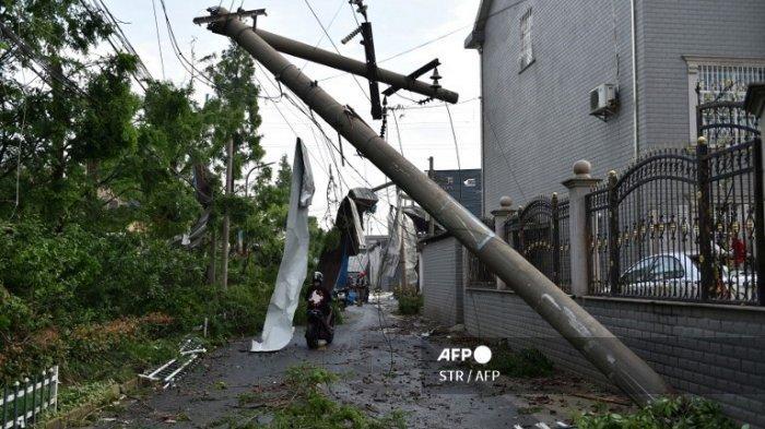 Tornado Menerjang Wuhan dan Shengze China, 12 Orang Tewas dan Lebih dari 300 Orang Terluka