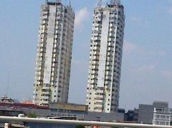 Gedung Pencakar Langit Tumbuh Seiring Mahalnya Tanah