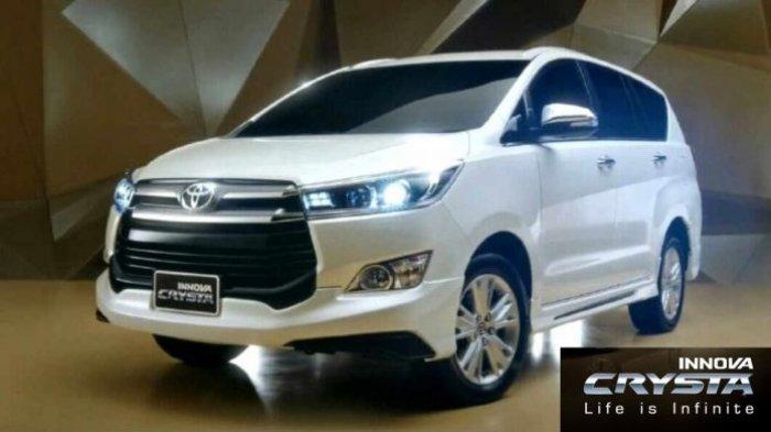 Toyota Innova Crystal yang baru saja meluncur untuk pasar India.